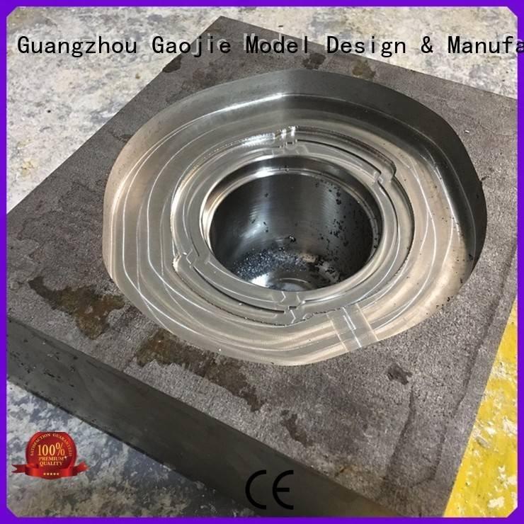 Gaojie Model Brand model arts chrome Metal Prototypes high