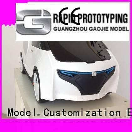 Gaojie Model custom plastic fabrication machining 3d competitive energy