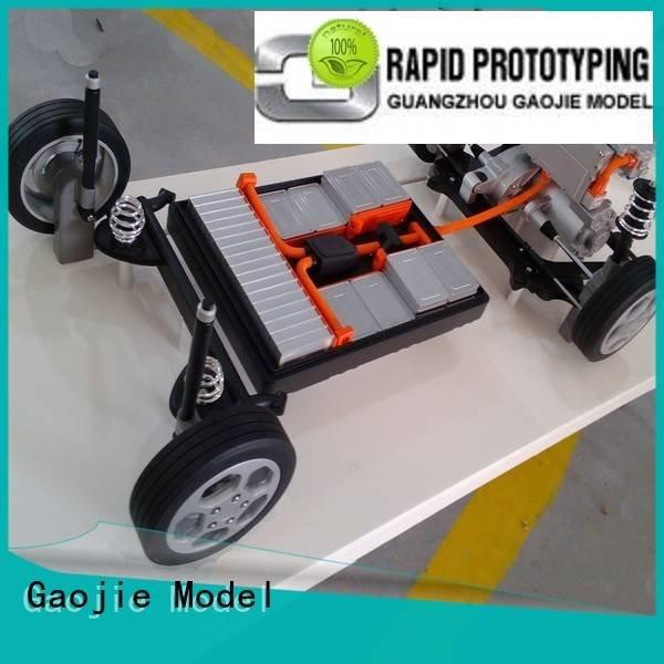 strong aluminum stainless Gaojie Model metal rapid prototyping