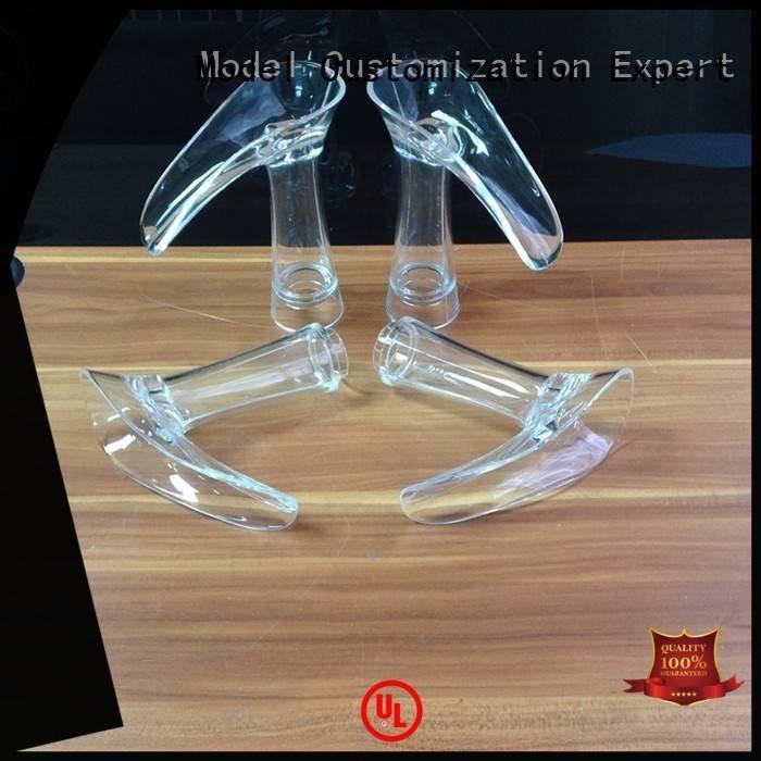Gaojie Model Brand spare rapid crystal 3d print transparent plastic