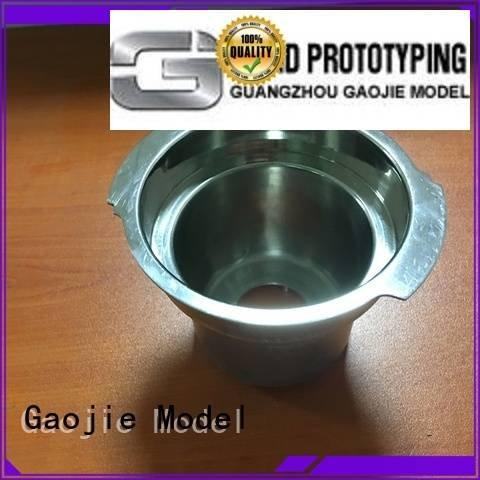 Gaojie Model Metal Prototypes plastic fork polished products