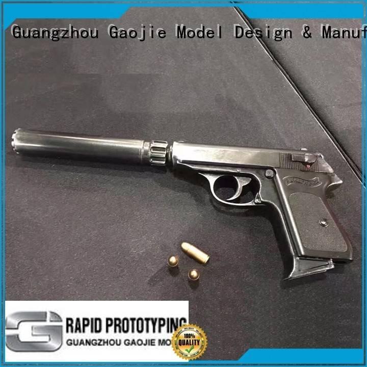 Hot metal rapid prototyping walkie Metal Prototypes custom Gaojie Model