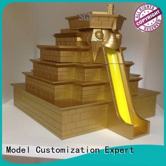 resin plastic building 3d printing prototype service Gaojie Model