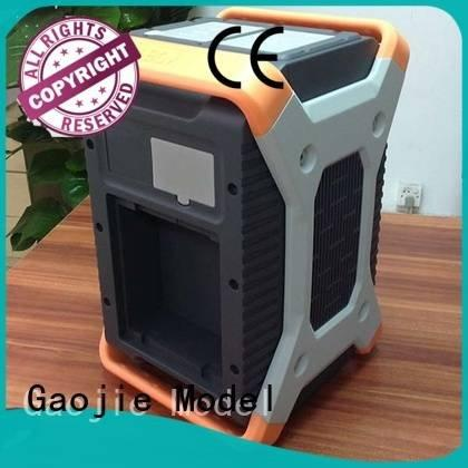 Gaojie Model water Plastic Prototypes notebook accuracy