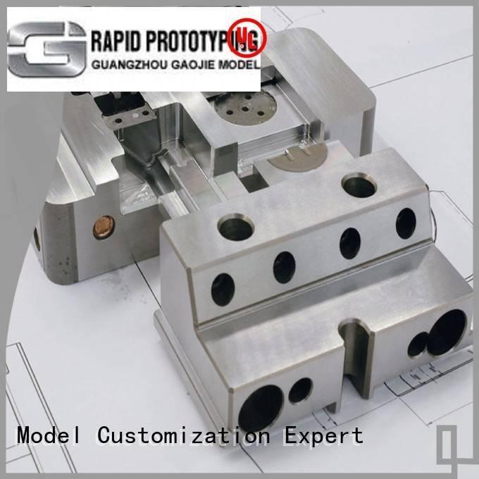 arts Metal Prototypes Gaojie Model metal rapid prototyping