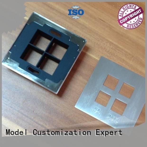 Hot metal rapid prototyping cnc steel of Gaojie Model Brand