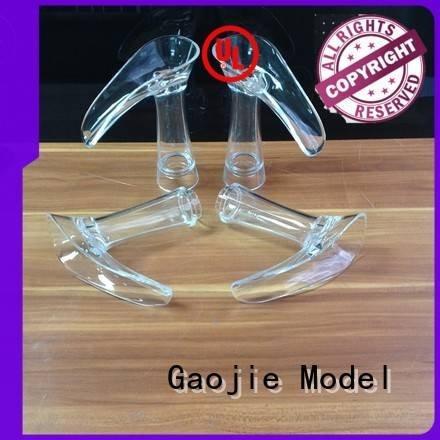 Hot 3d print transparent plastic industrial Transparent Prototypes case Gaojie Model
