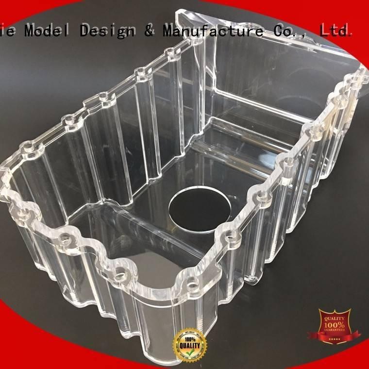 pump model prototypes custom Gaojie Model 3d print transparent plastic