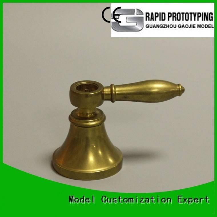 Gaojie Model metal rapid prototyping milling 3d machining