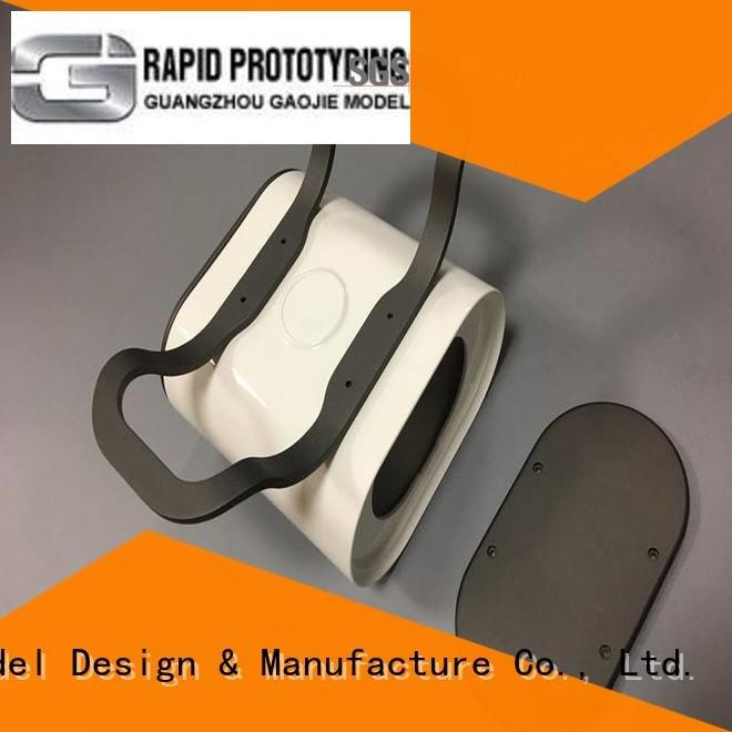 Gaojie Model Brand aluminum pmma factory custom plastic fabrication