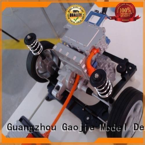 Gaojie Model cnc plastic machining parts model headphones