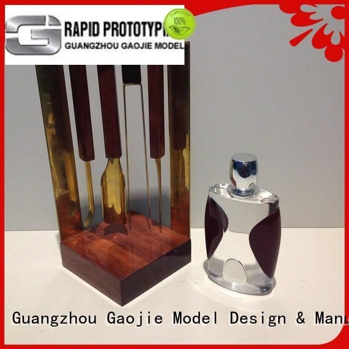 Gaojie Model Brand 3d machining alloys Metal Prototypes