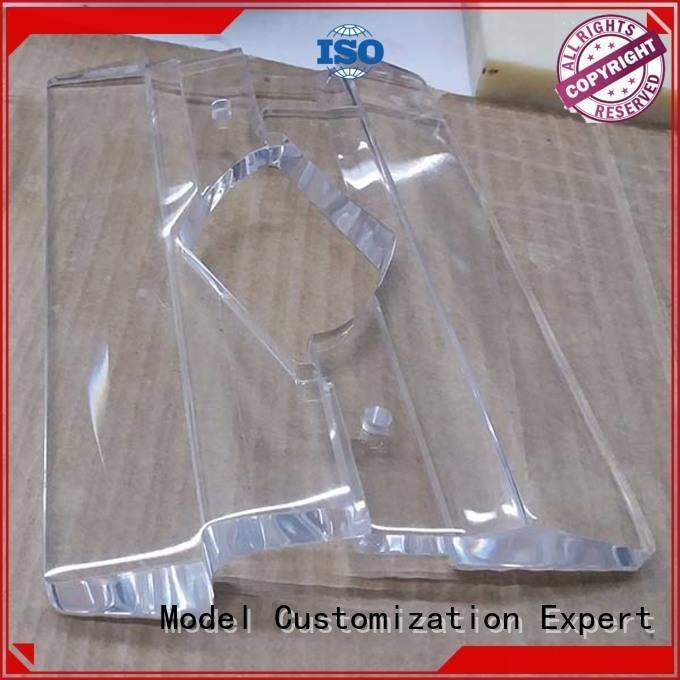 3d print transparent plastic machining crafts Gaojie Model Brand