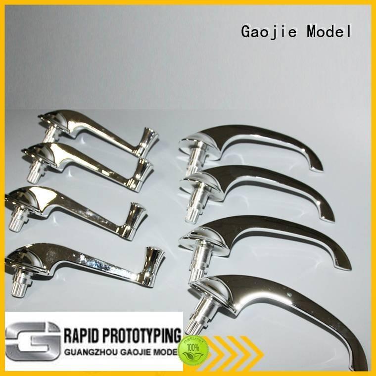 wholesales aluminum metal Metal Prototypes Gaojie Model