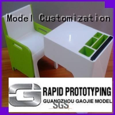 Gaojie Model parts device Plastic Prototypes box prototype
