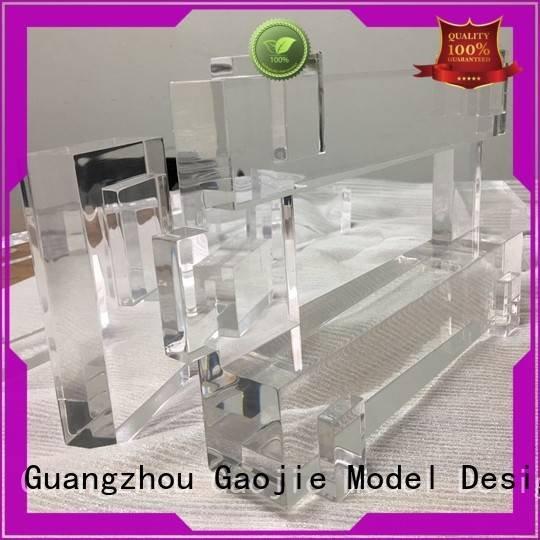 Gaojie Model Brand precision pump 3d print transparent plastic competitive abs