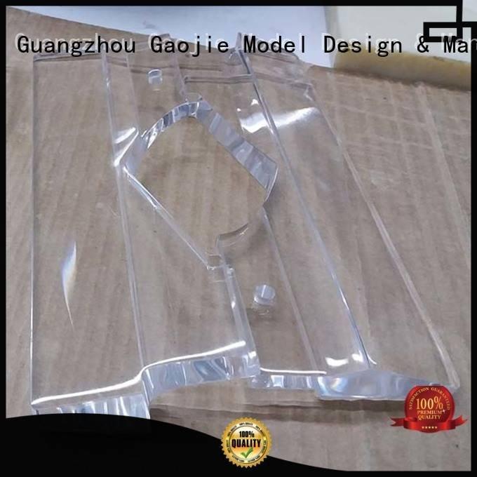 cases Transparent Prototypes Gaojie Model 3d print transparent plastic