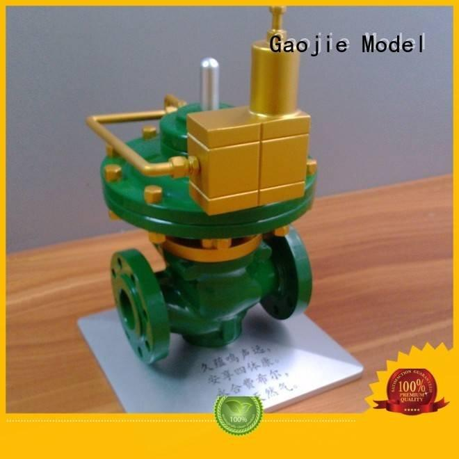 Gaojie Model Metal Prototypes services crafts energy chrome