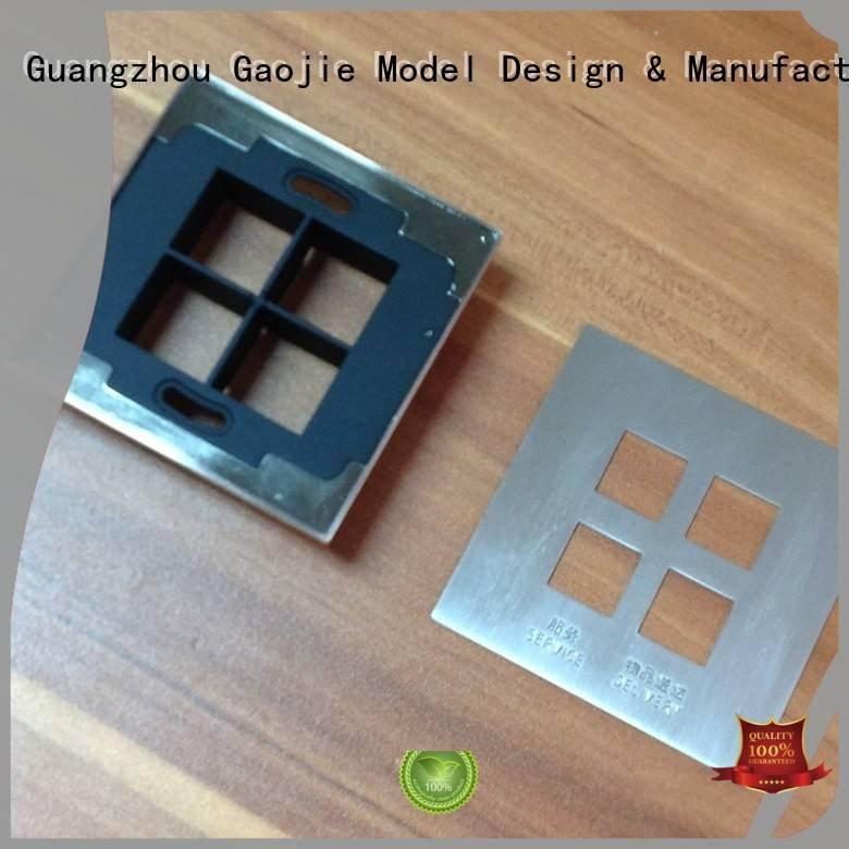 alloys milling design metal rapid prototyping Gaojie Model