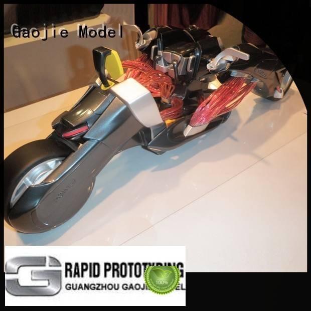 Gaojie Model plastic prototype service robot design rapid advance