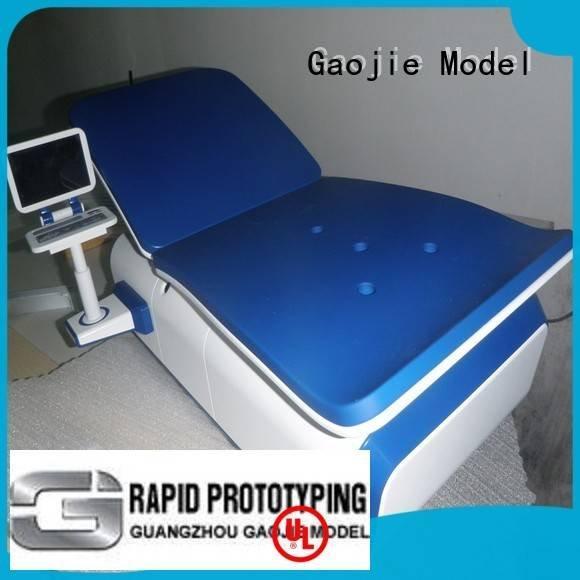 cnc plastic machining printing custom plastic fabrication headphones Gaojie Model