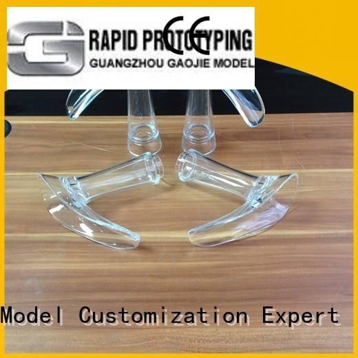 polished modeling Gaojie Model Transparent Prototypes