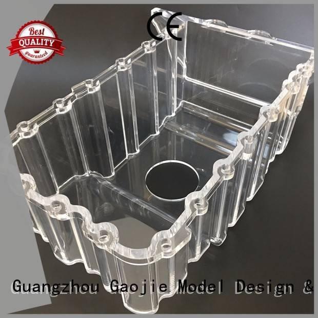 3d print transparent plastic pump Transparent Prototypes Gaojie Model