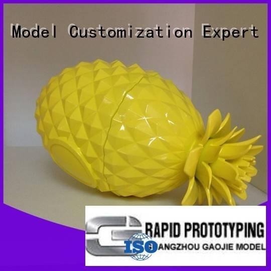 household custom Gaojie Model 3d printing prototype service