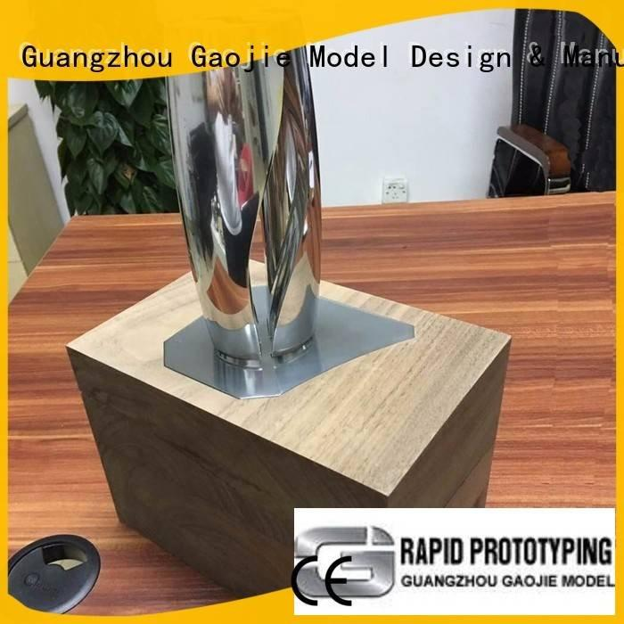 fitting polished Metal Prototypes precision Gaojie Model