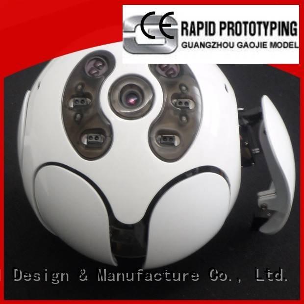 Gaojie Model Brand electroplating plastic prototype service milling desk