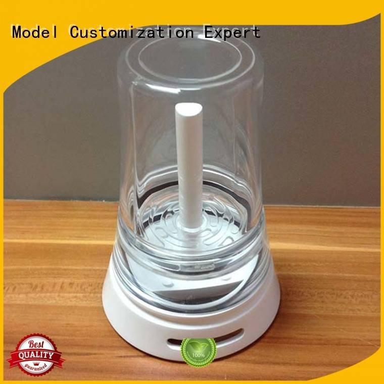 Hot 3d print transparent plastic qualified Transparent Prototypes custom Gaojie Model