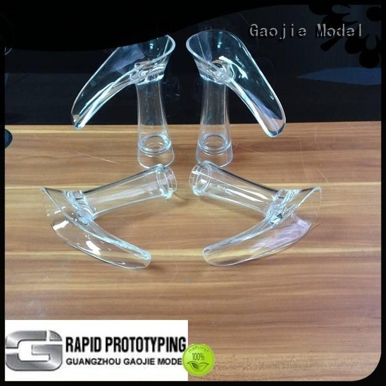 Gaojie Model 3d print transparent plastic model car modeling