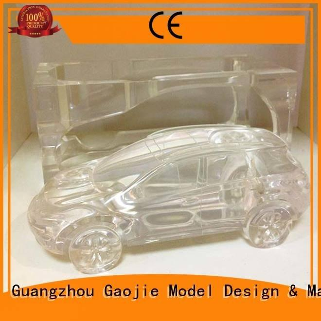 Gaojie Model Transparent Prototypes household prototypes building quality