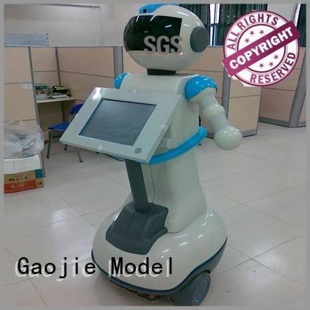 plastic prototype service plastic robot Gaojie Model Brand