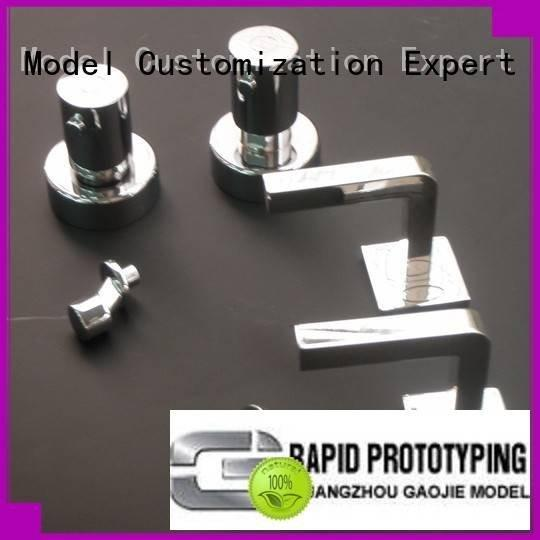 Hot plastic prototype service molding water electroplating Gaojie Model Brand