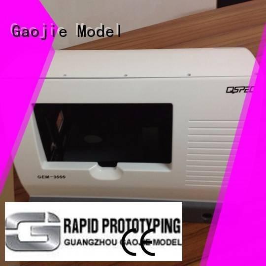 cnc plastic machining design modeling Gaojie Model Brand
