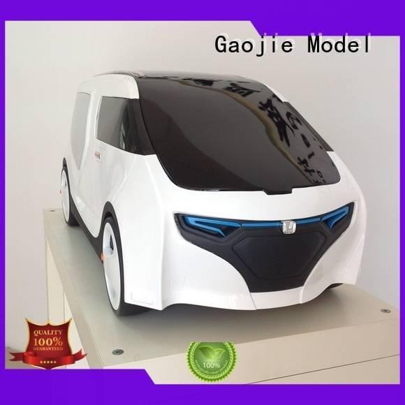 cnc plastic machining energy car chair prototype Gaojie Model