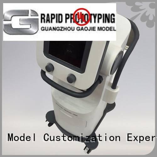 design device Gaojie Model cnc plastic machining