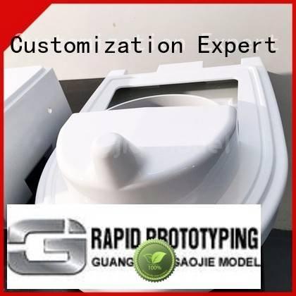 Hot cnc plastic machining prototyping custom plastic fabrication advance Gaojie Model