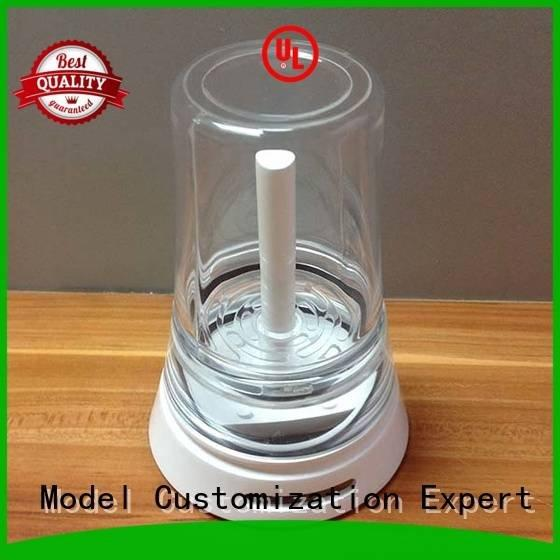 Gaojie Model Brand custom transparent 3d print transparent plastic abs arts