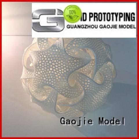 3d printing prototype service popular selective 3d printing companies Gaojie Model Warranty