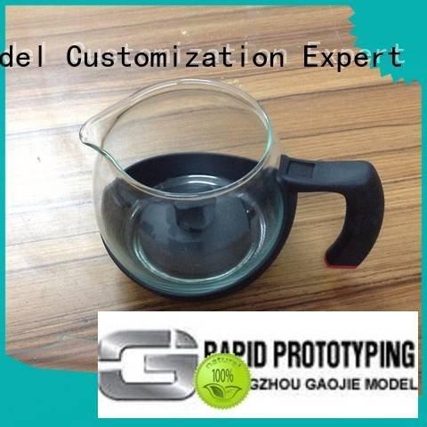 Hot 3d print transparent plastic polished machining modeling Gaojie Model Brand