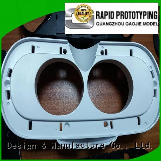 supply custom plastic fabrication Gaojie Model cnc plastic machining