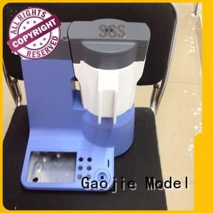 Gaojie Model cnc plastic machining water products services