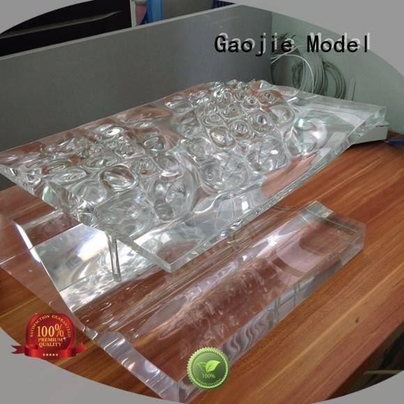 Gaojie Model Brand machining cases Transparent Prototypes precision parts
