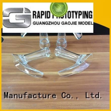 good 3d machining service Gaojie Model Transparent Prototypes