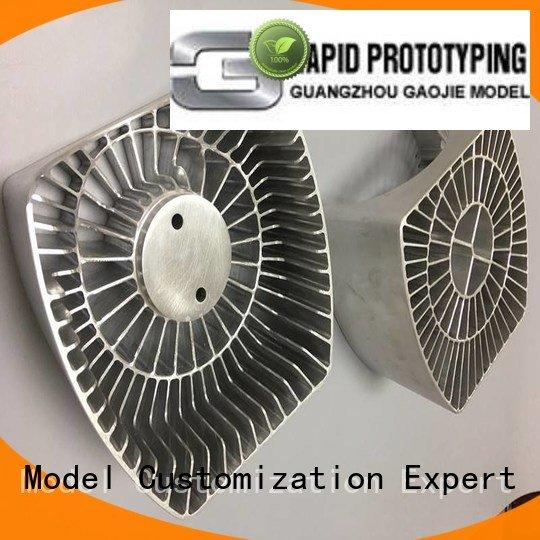 3d strong parts stainless Gaojie Model Metal Prototypes