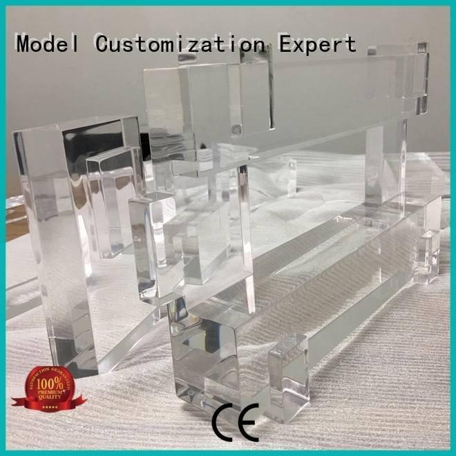 bottles plastic Transparent Prototypes building Gaojie Model