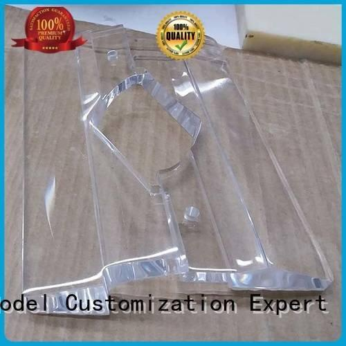 Quality 3d print transparent plastic Gaojie Model Brand small Transparent Prototypes