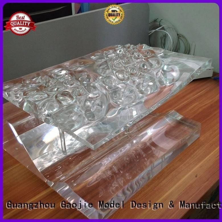 OEM Transparent Prototypes modeling seasoning 3d print transparent plastic